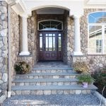 Coastline Natural Stone Veneer Entrance