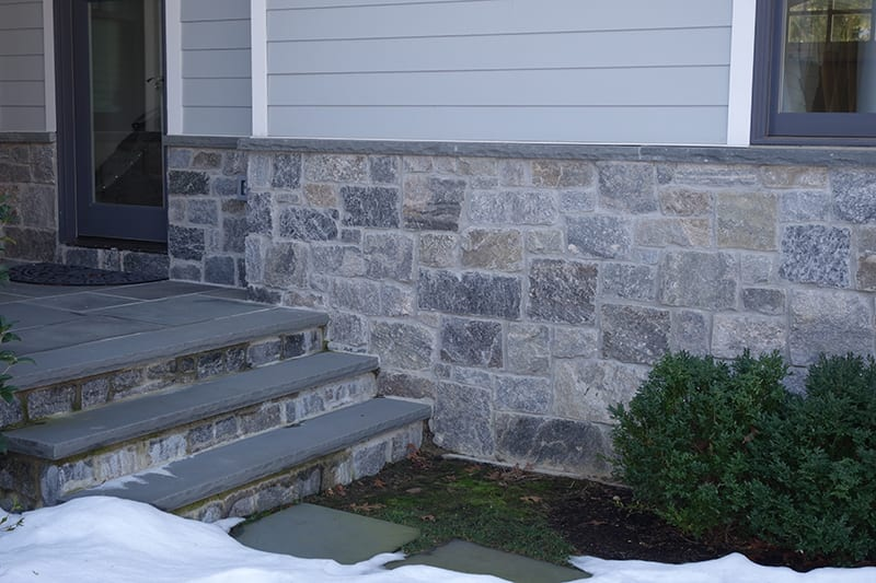 Ellsworth Natural Stone Veneer Entrance