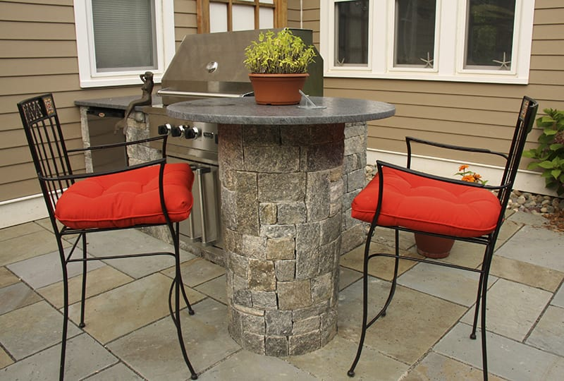Ellsworth Natural Thin Stone Veneer Outdoor Living