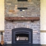 Ephraim Real Stone Veneer Fireplace