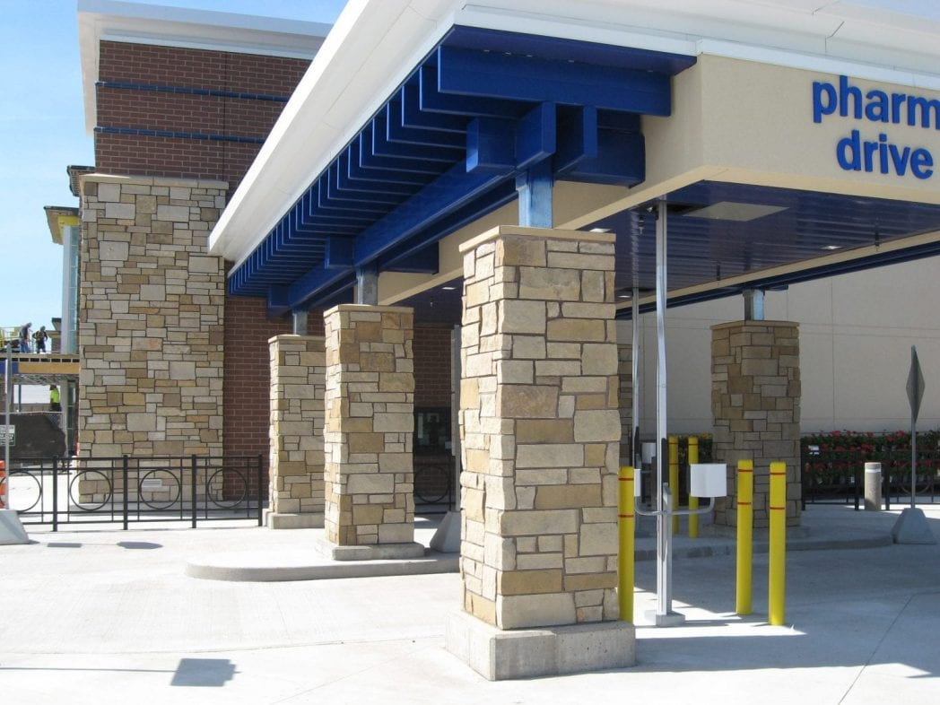 Lueders Commercial Natural Thin Stone Veneer