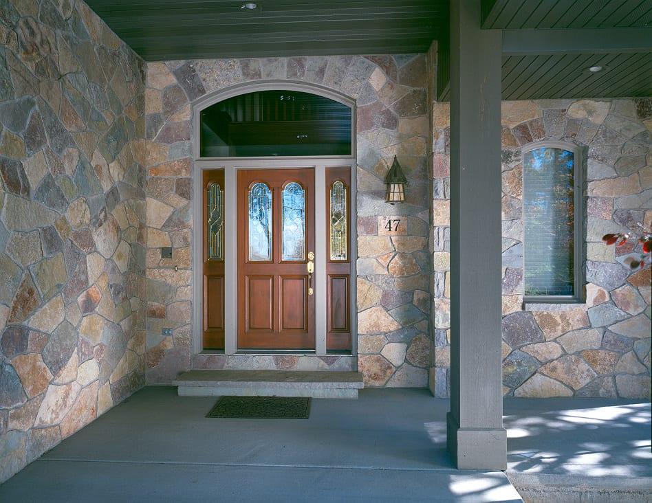 Maricopa Thin Stone Veneer Exterior Entry