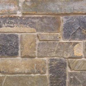 Midnight Natural Thin Stone Veneer