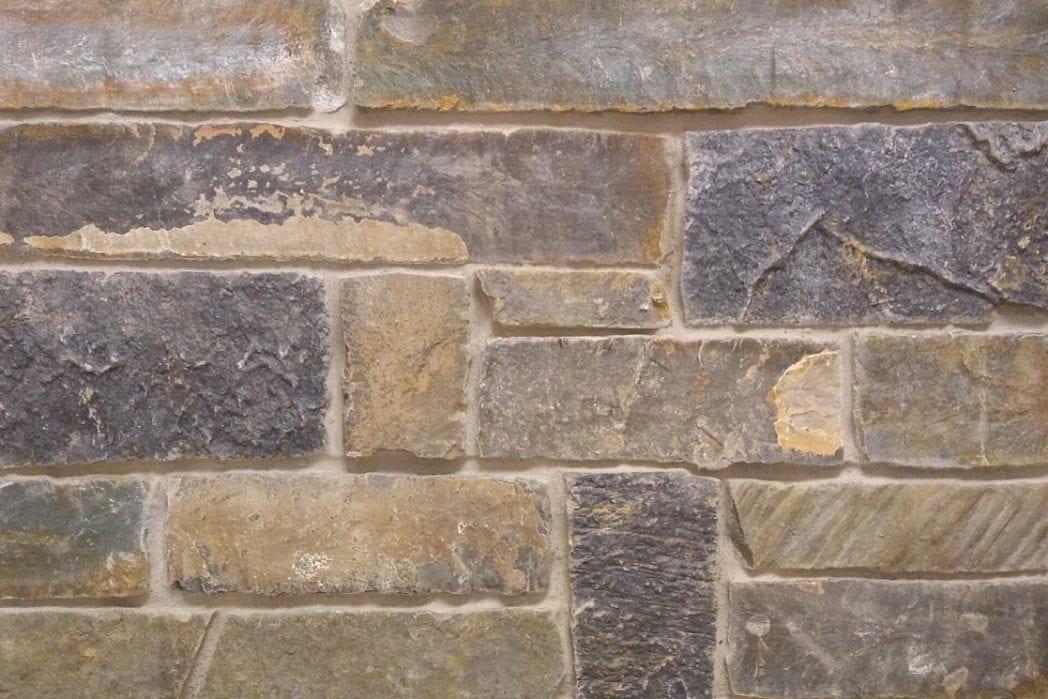 Thin Brick Veneer Stone Natural Thin Stone: Midnight - Natural Thin Stone Veneer