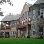 Rochester Queen Creek Natural Thin Stone Veneer Blend Exterior