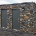 Ridgefield Natural Thin Stone Veneer Commercial