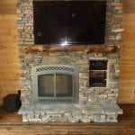 Torrington Natural Stone Veneer Fireplace