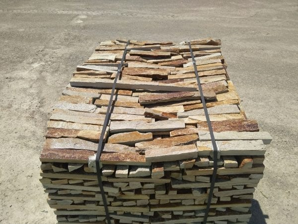 Virginia Cinamon Natural Stone Veneer Pallet