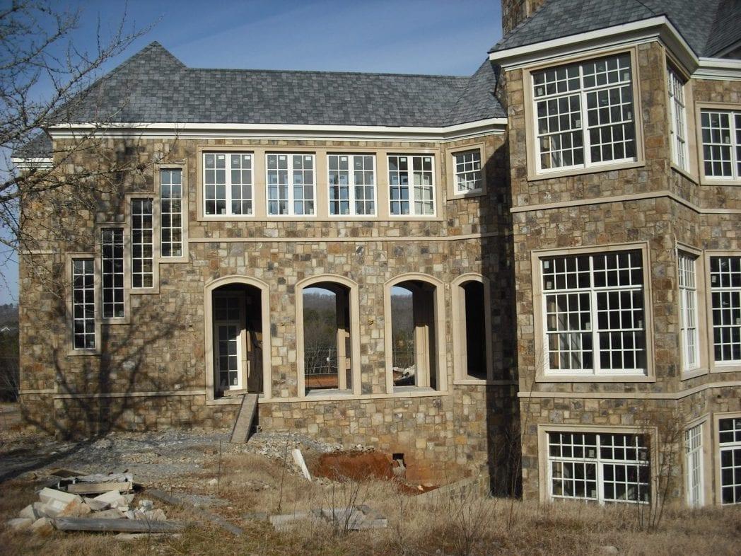 Whistler Real Stone Veneer Residential Exterior