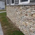 Alexandria Natural Thin Stone Exterior Wall Drystacked