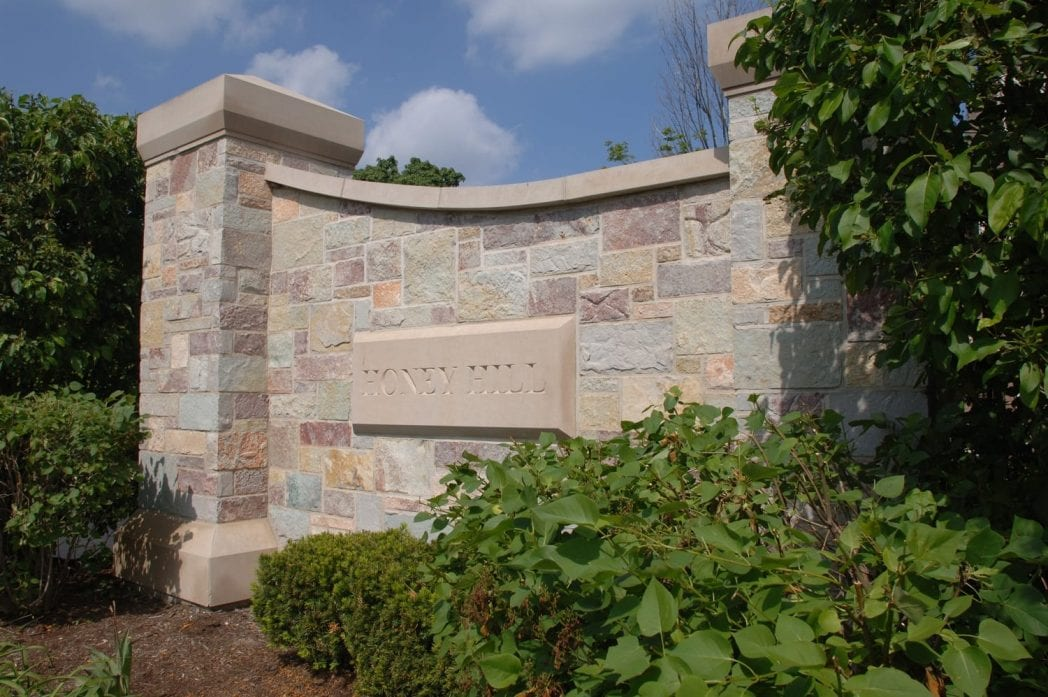 Ambrose Natural Stone Veneer Commercial Application