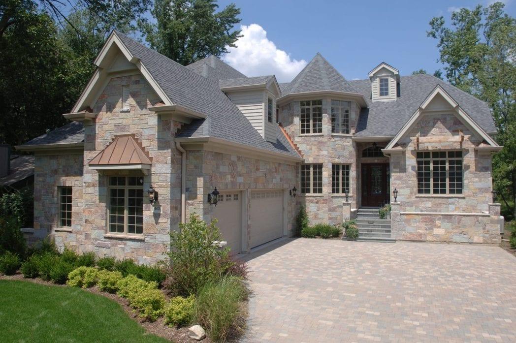Ambrose Natural Stone Veneer Residential Exterior