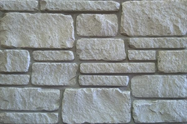 Montreux White Tumbled Natural Thin Stone Veneer