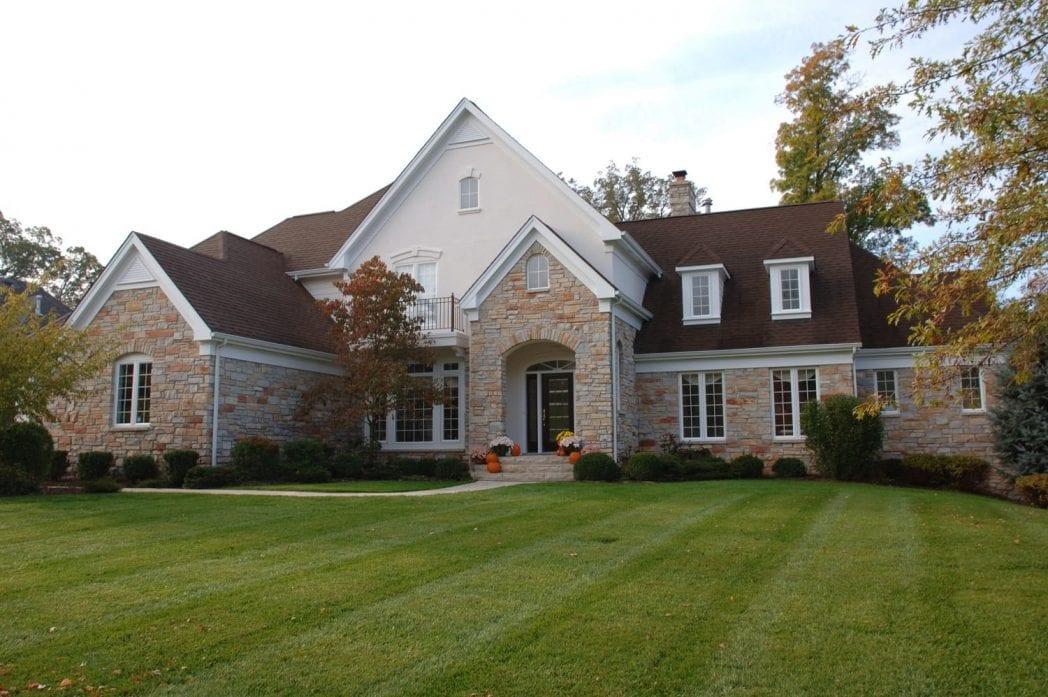 Pennington Natural Stone Veneer Residential Exterior