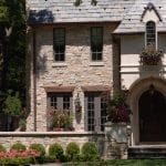 Royal Dusk Natural Thin Stone Veneer Residential Exterior