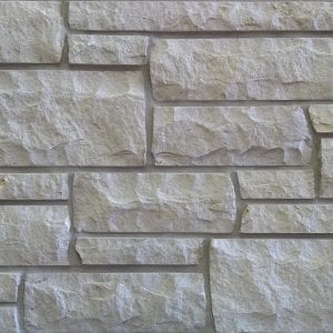 Snowcap White Natural Thin Stone Veneer