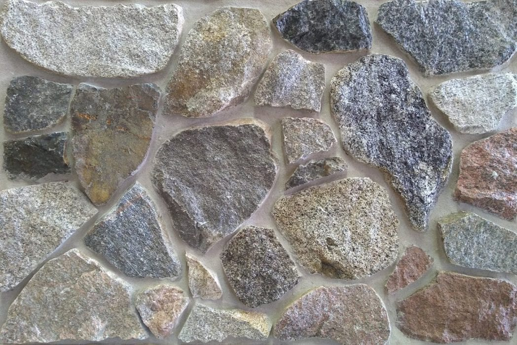 Thin Brick Veneer Stone Natural Thin Stone: Split Fieldstone - Natural Thin Stone Veneer