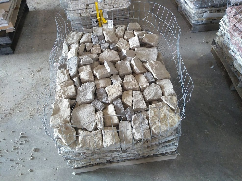 Malahide Natural Thin Stone Veneer Stock Pallet