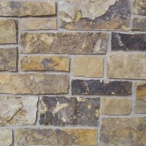 Buckskin Natural Thin Stone Veneer