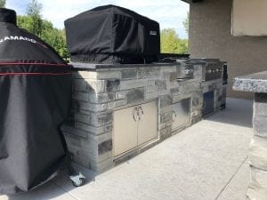 Outdoor Living Charcoal Canyon Natural Thin Stone Veneer