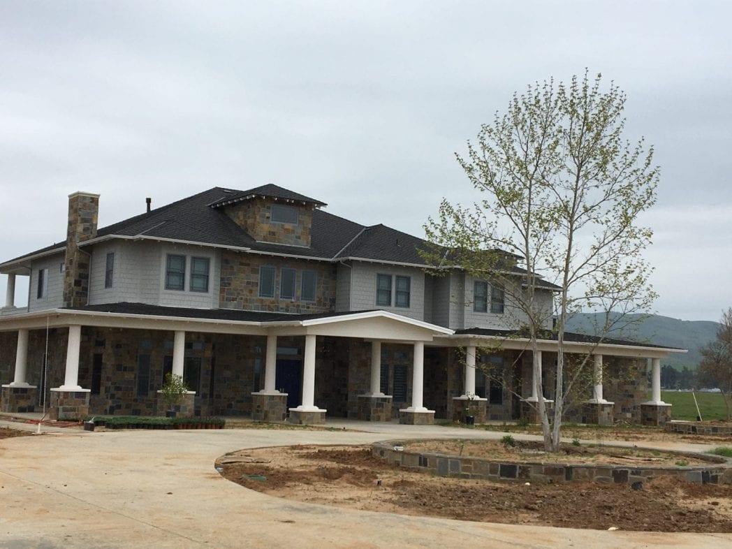 Potomac Thin Stone Veneer Residential Exterior