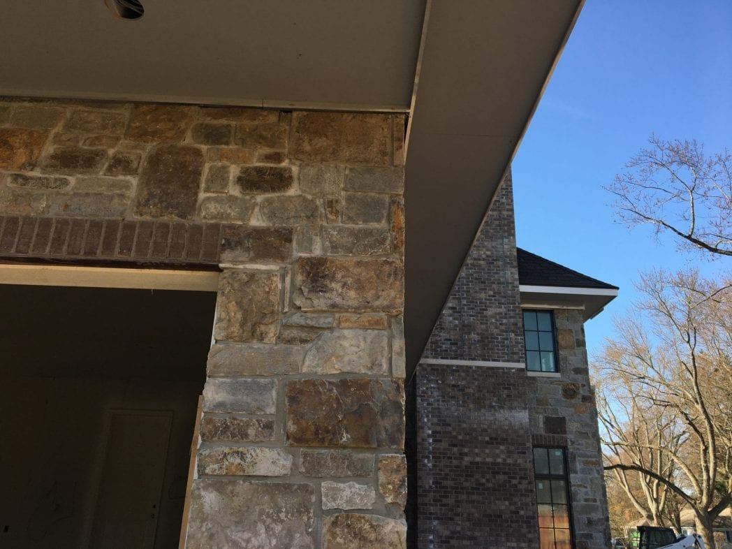 Autumn Ridge Natural Stone Veneer Exterior