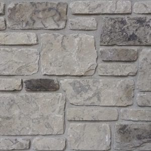 Country Snow Dimensional Tumbled Real Stone Veneer