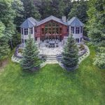 Cranberry Castle Custom Architectural Home with Natural Stone