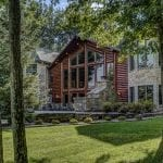 Eagle River Home Exterior Using Natural Stone