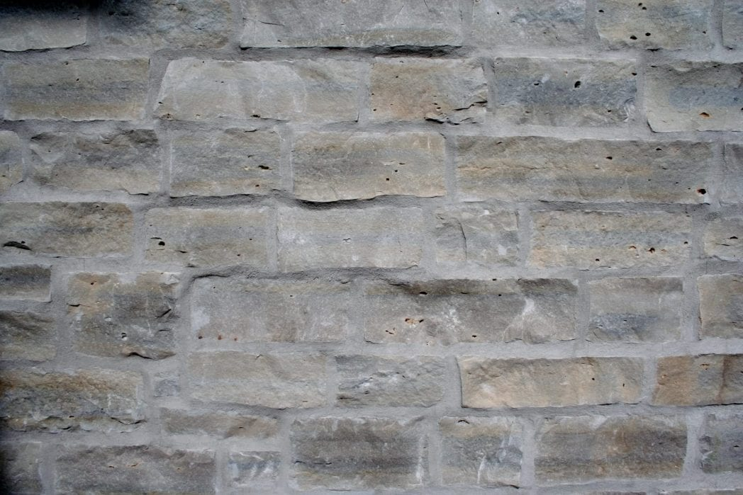 Flush Joint Installation Natural Thin Stone Veneer