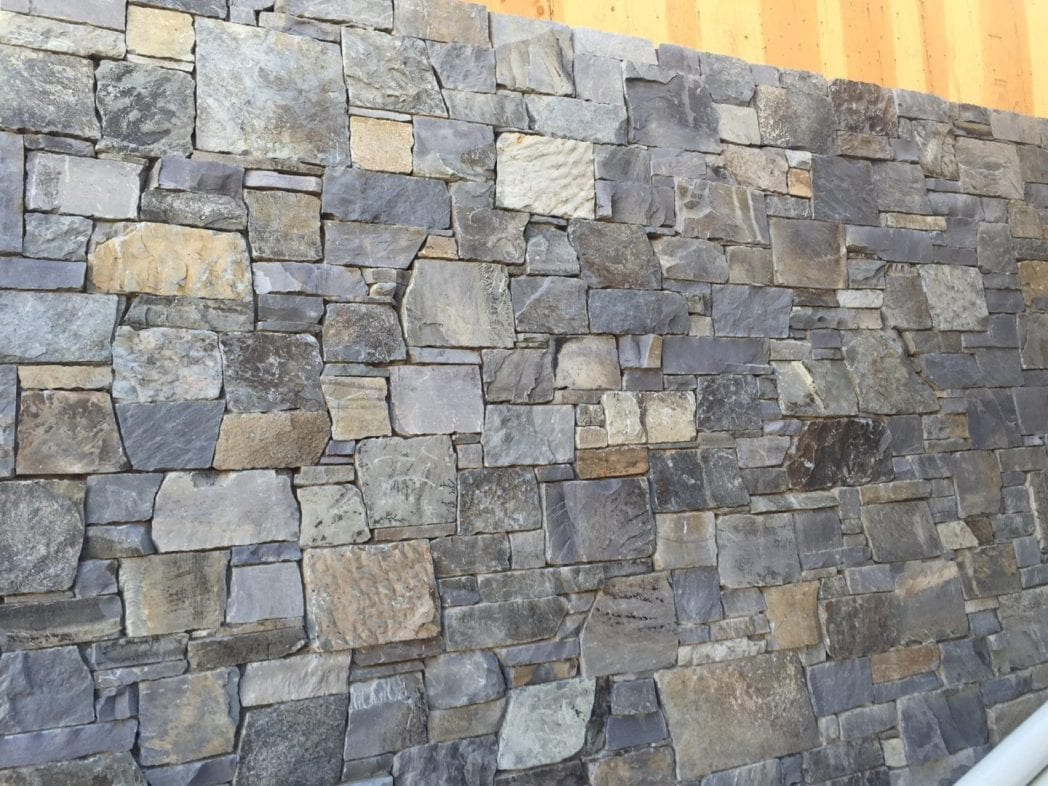 Glacier Ridge Custom Natural Thin Stone Veneer
