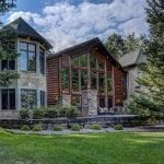 Natural Stone Exterior and Landscaping