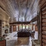 Natural Stone Fireplace and Interior Accent