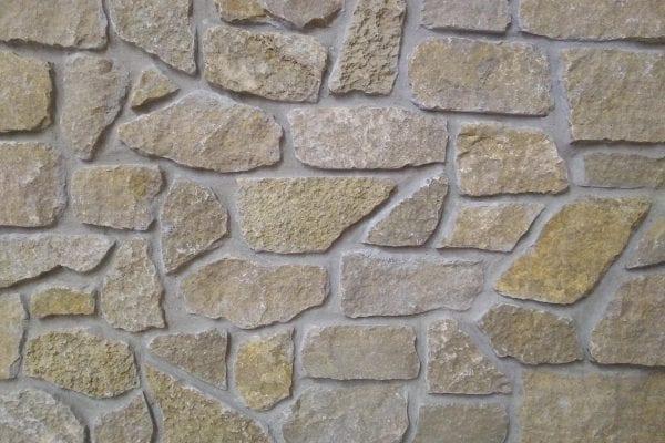 Salina Tumbled Rubble Thin Stone Veneer