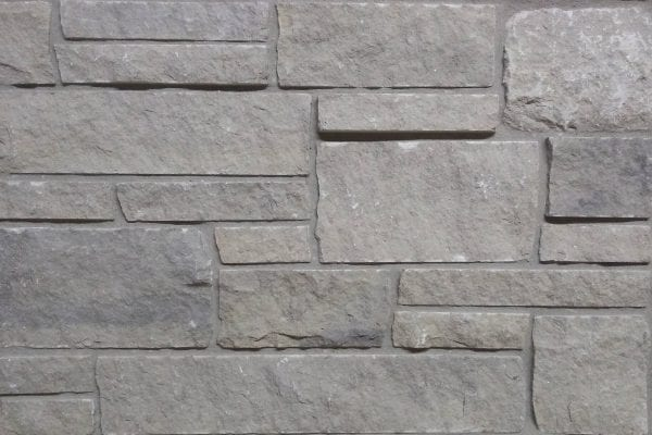 Silver Cloud Dimensional Real Stone Veneer