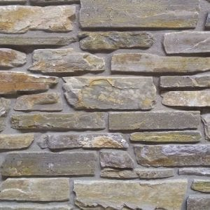 Smokey Gold Thin Stone Veneer