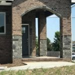 Blackburn Natural Stone Veneer Pillars