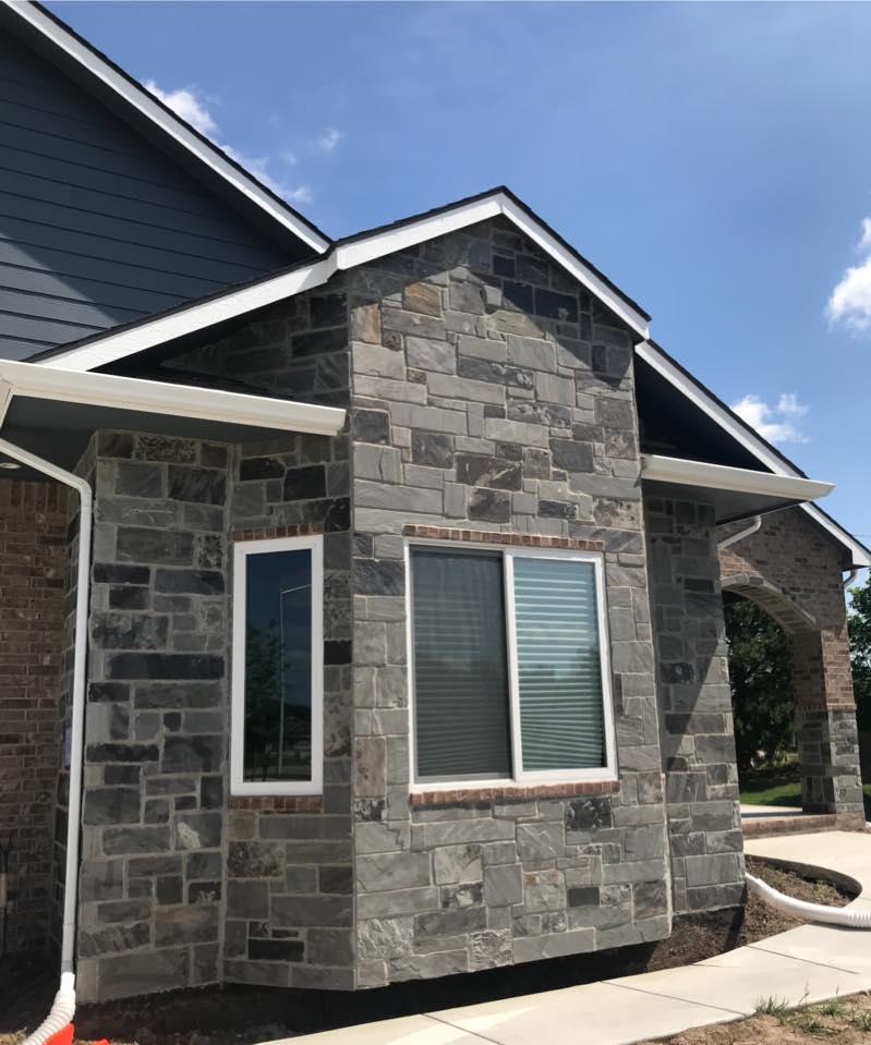 Blackburn Natural Thin Stone Veneer Residential Exterior