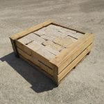 Coastal Mist Natural Thin Stone Veneer Stock Pallet