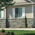 Columbia Natural Stone Veneer Wainscotting