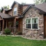 Langston Natural Thin Stone Veneer Residential Exterior