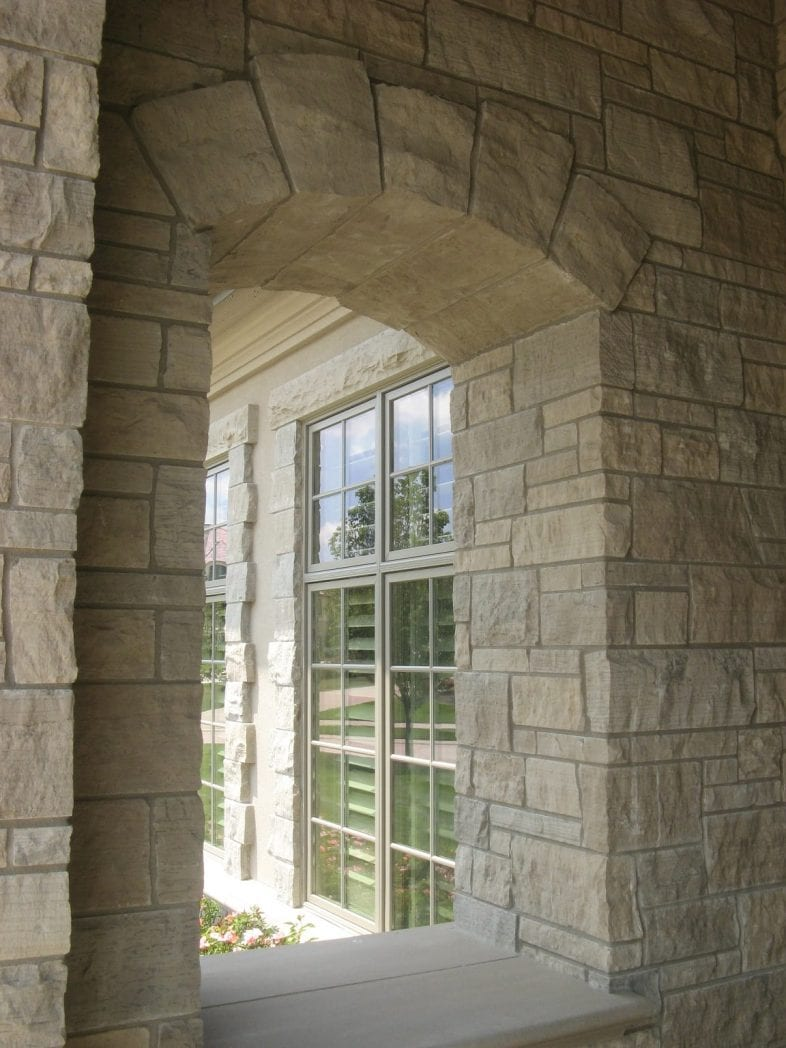 Lockridge Dimensional Natural Thin Stone Veneer Arch