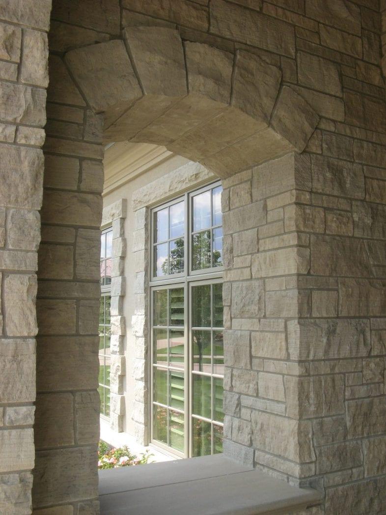 Lockridge Dimensional Natural Thin Stone Veneer Arch