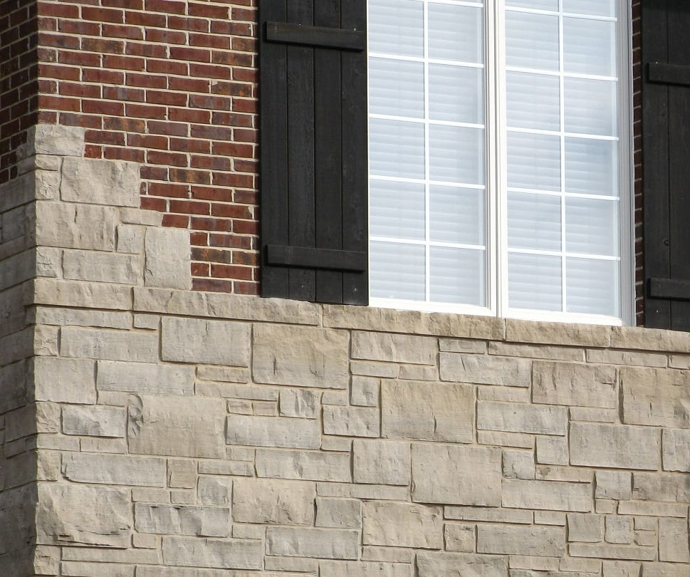Lockridge Grey Dimensional Real Quarried Thin Stone Veneer