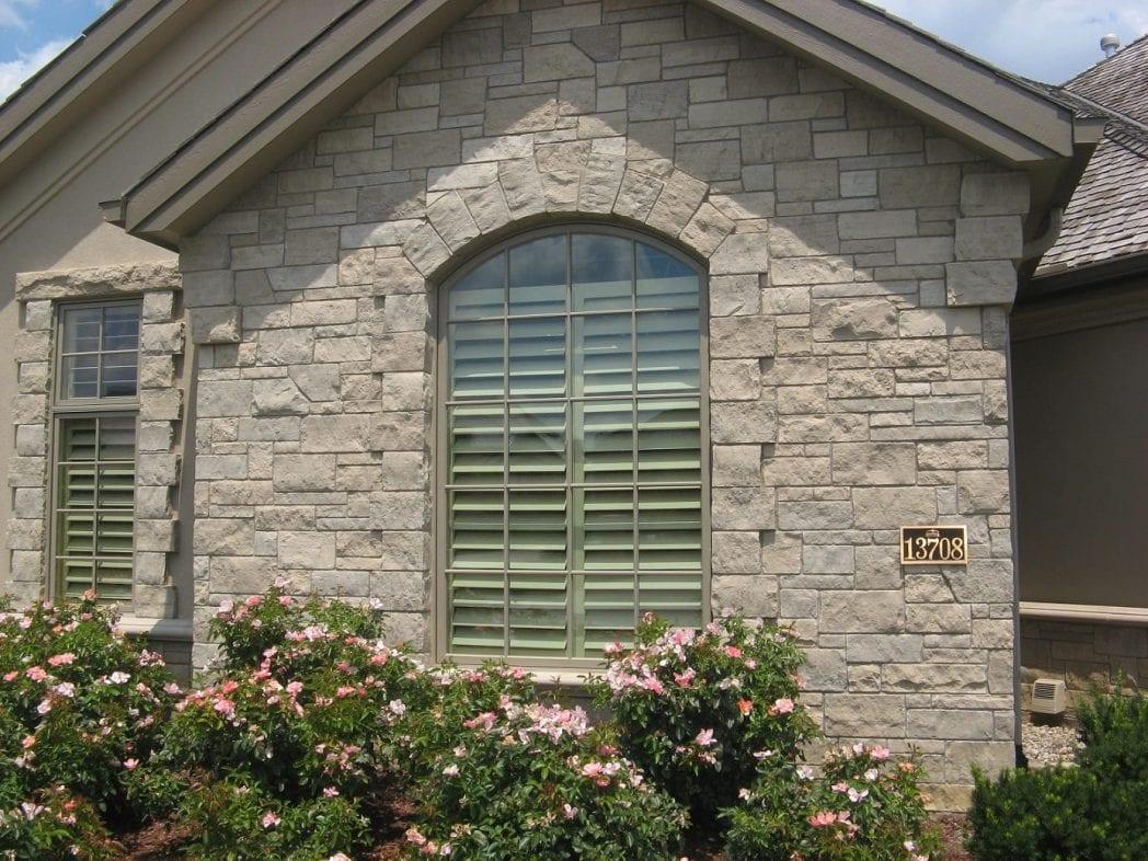 Lockridge Natural Stone Thin Stone Veneer Exterior