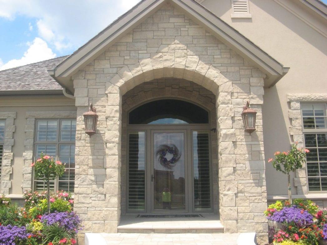 Lockridge Natural Stone Veneer Residential Exterior