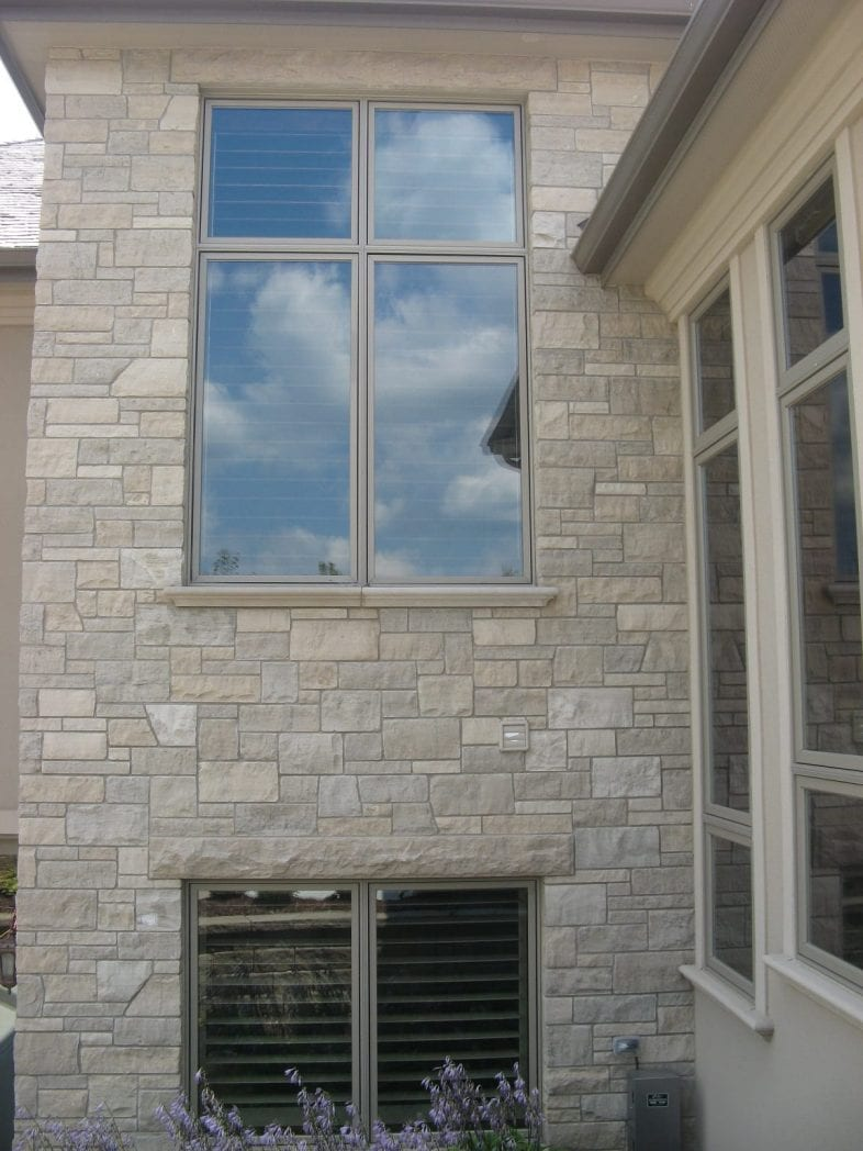 Lockridge Real Stone Veneer Exterior Masonry