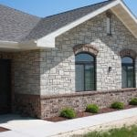 Lockridge Thin Real Stone Veneer Exterior Masonry