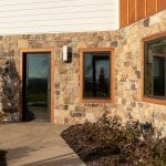 London Natural Fieldstone Veneer Residential Exterior