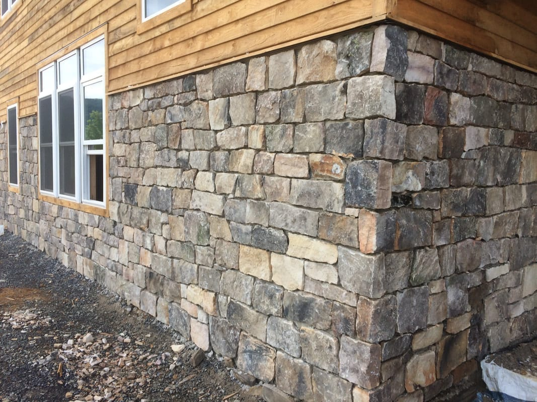 London Natural Stone Veneer Close Up